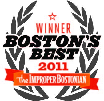 Winner: Boston's Best 2011, from The Improper Bostonian