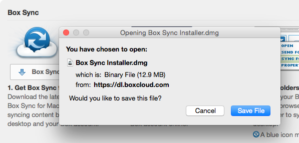 Download Box Sync Installer