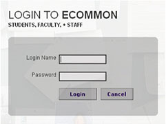 Login to eCommon